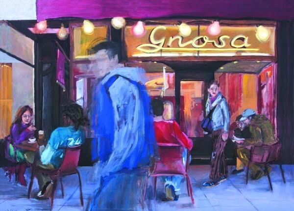 Gnosa | Abend (Gnosa | Evening) Acryl und Öl auf Leinwand (Acrylic and Oil on Canvas)