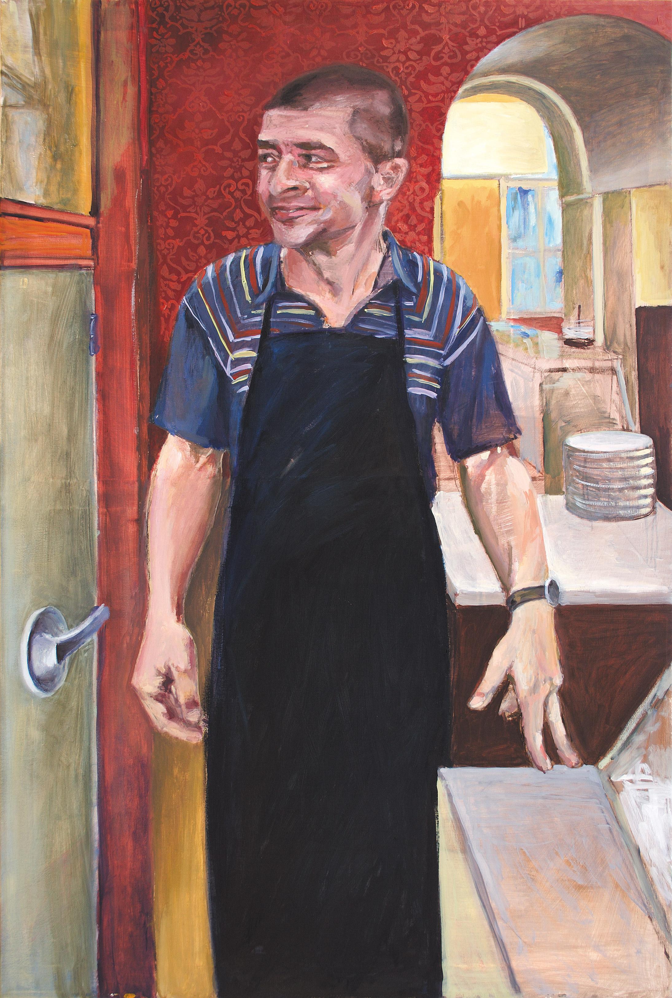 Bernard | Acryl und Öl auf Leinwand  (Acrylic and Oil on Canvas)