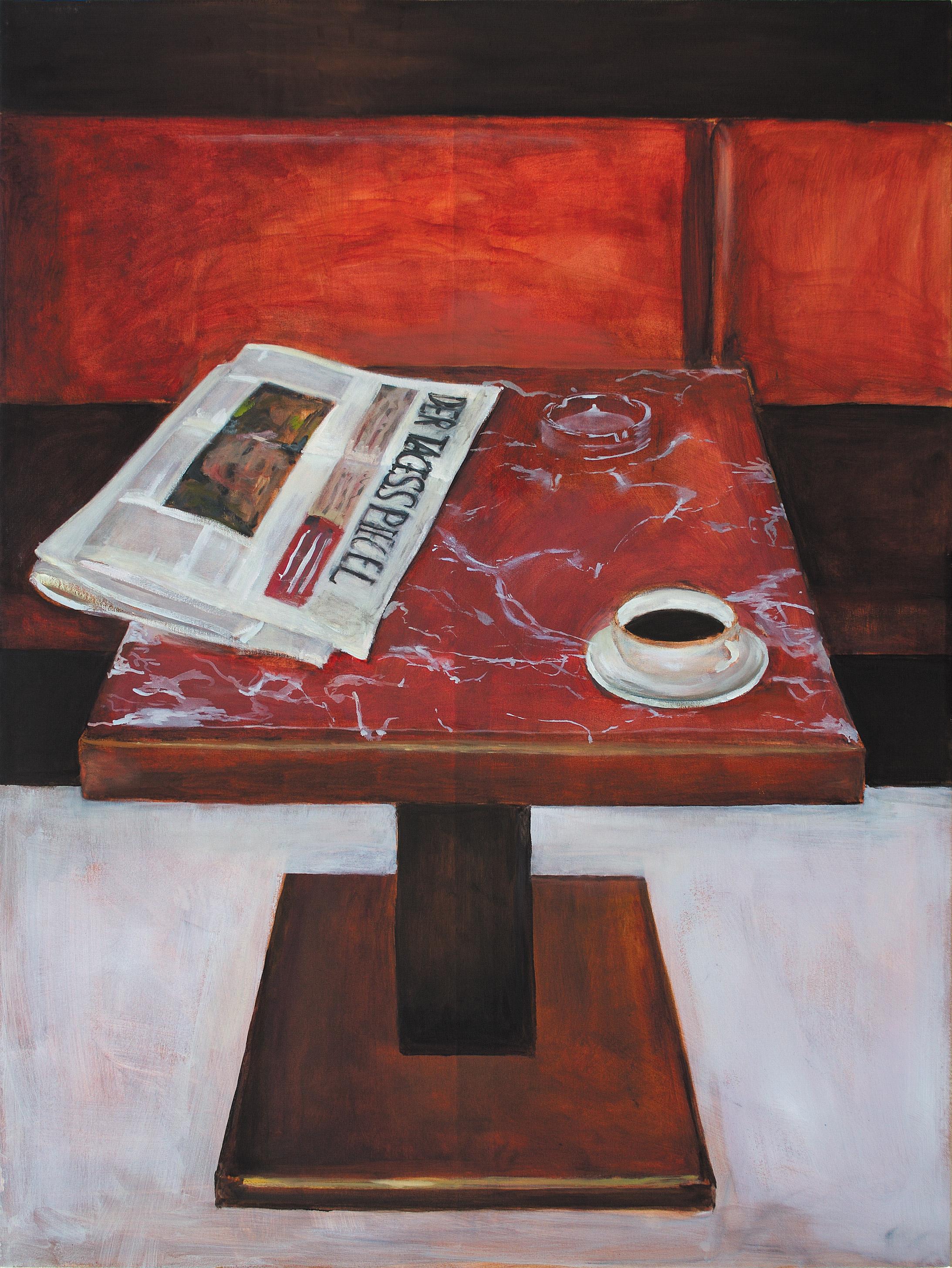 Tagesspiegel | Acryl und Öl auf Leinwand  (Acrylic and Oil on Canvas)